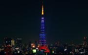 東京タワー. 「侍ブルー」. むき出しの鉄骨. でっかい建造物の魅力. 時刻: 13:59 (imgp )