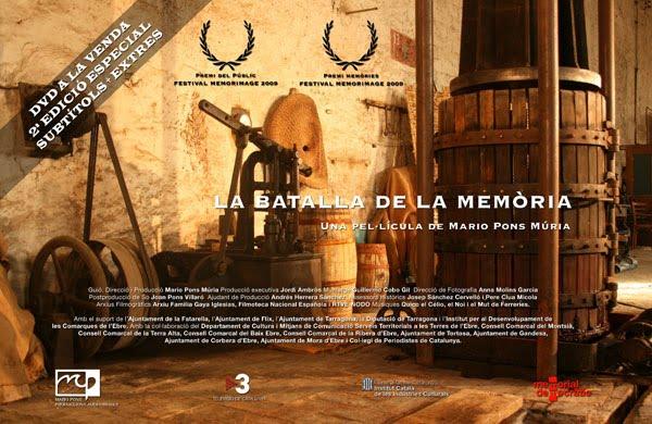 La Batalla de la Memòria (2a Edició DVD)
