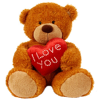I Love You Valentine Bear