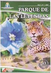 Revista institucional del Parque de Las Leyendas (2007).