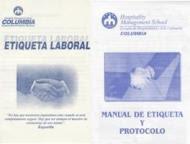 """Publicaciones de los alumnos de  """"Etiqueta y Protocolo"""" de Columbia - 2009."""