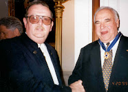 Elmar with Helmut Kohl
