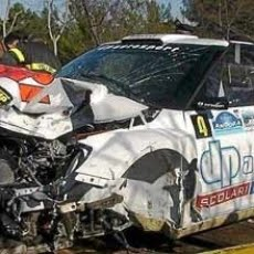 Kubica hospitalizado tras un grave accidente cuando pilotaba un Skoda Fabia