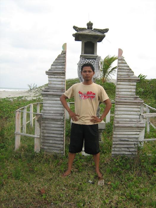 Wilian Dalton di Kampung Bali