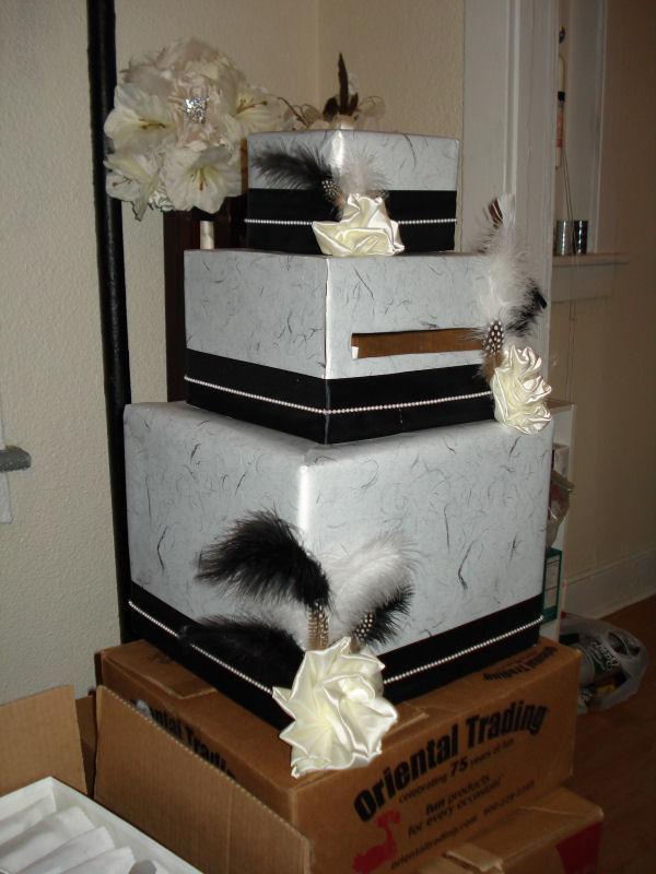 Mine at Last DIY Card Box – Making a Card Box for Wedding