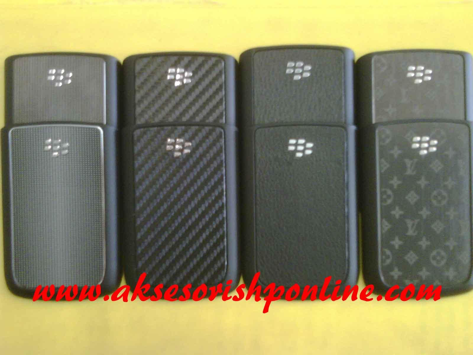 Kepengen Backdoor Original Blackberry Onyx 9700 dengan berbagai motif