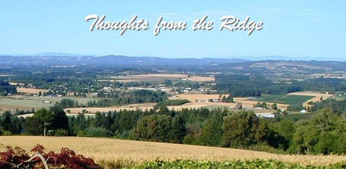 Thoughts from the Ridge