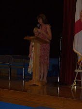 Ms Myers tells of Kaitlyns awards