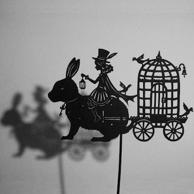 isabellas art for gorgeous shadow puppets