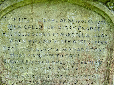 last jester in england grave at st marys berkeley