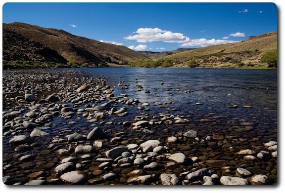 rocks river