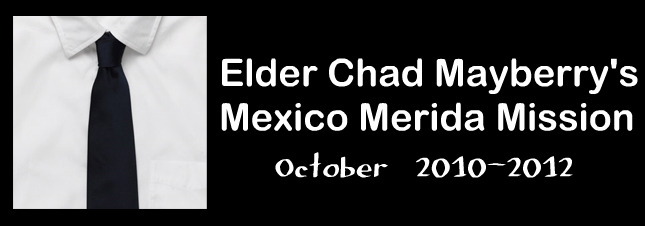 Elder Chad Mayberry's Mission