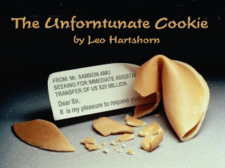 Different Drummer: The Unfortunate Cookie: cracks me up