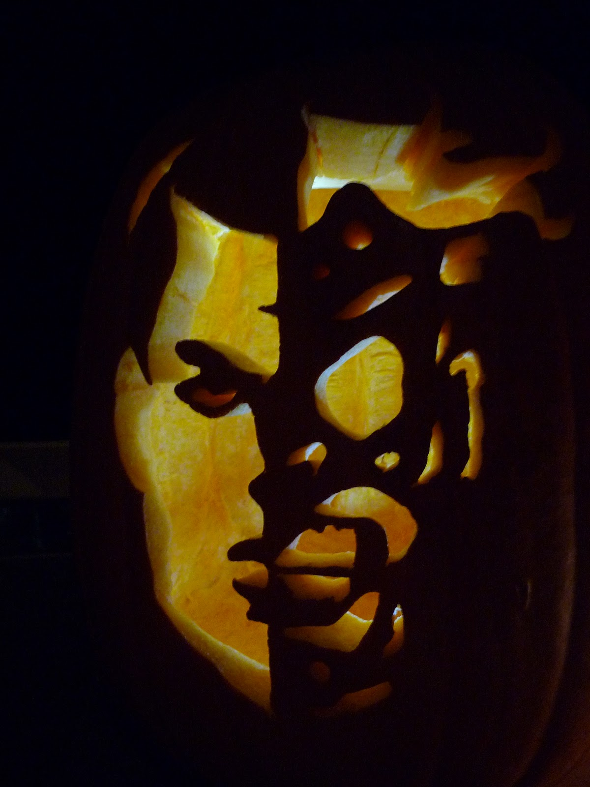 Two Face Pumpkin