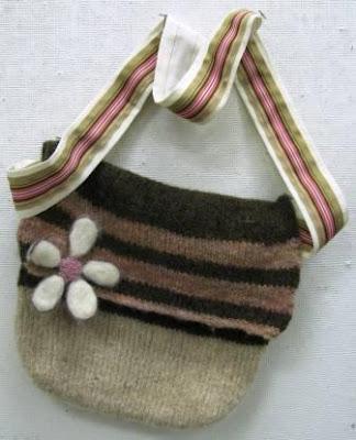 Felted crochet bowl | pennies per hour of pleasure