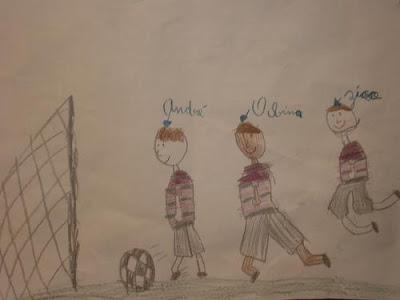 O ataque dos sonhos: Zico, Obina e André Monnerat, mostrando o faro de artilheiro