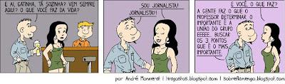 Quadrinhos: O Artilheiro - Lidando com a imprensa