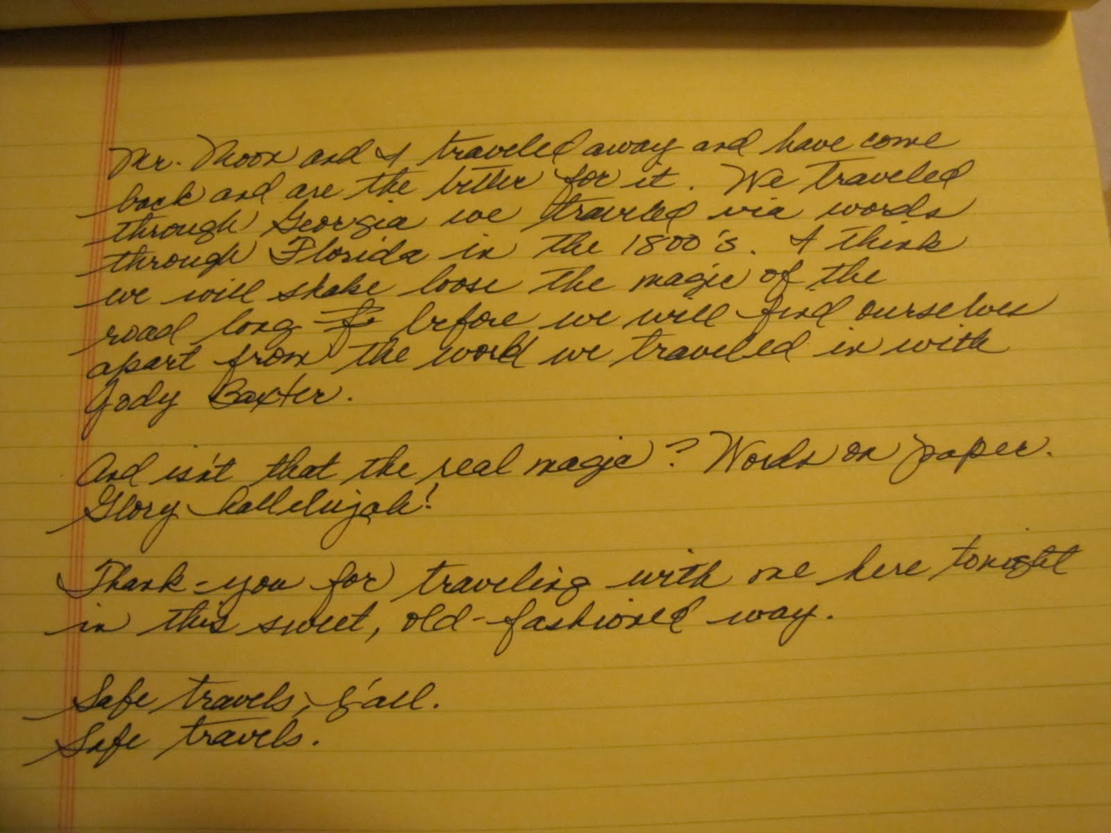 Notepad Writing Something Would Delete The Letter