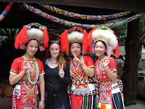 Me with girls in Formosan Aboriginal Dress