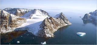 Warming Island, Greenland, in 2006