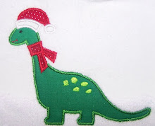 Christmas Dinosaur