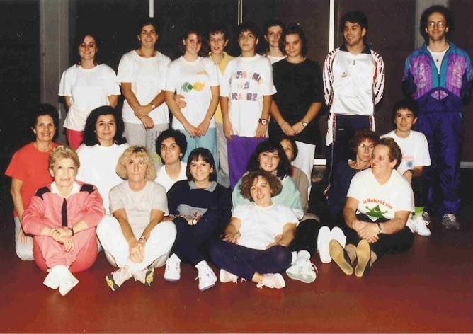 Il Gruppo di ginnastica femminile di Acr Accademia