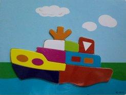 Puzzle Perahu