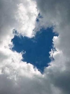 небо, сердце
