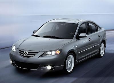 угон, Mazda 3