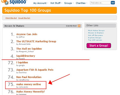 squidoo groups