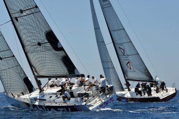 ... Riccardo Di Bartolomeo's Botin & Carkeek-designed Grand Soleil 42R0 MAN ...