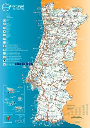 Foz do Arelho location map