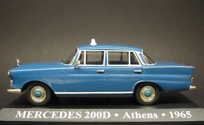 Mercedes 200 D Taxi Atenas