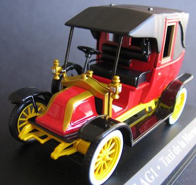 Renault AG1 - Táxi do Marne - Paris - 1914