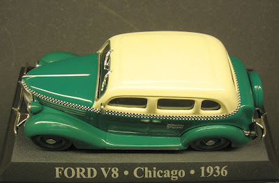 Ford V 8 - Táxi Chicago