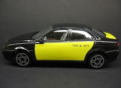 Alfa Romeo 156: Taxi de Barcelona