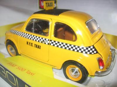 Fiat 500 Taxi: traseira