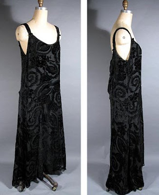 Silk Dress on Past Perfect Vintage  Decade Du Jour  The 1920s