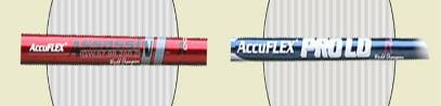 Accuflex wood shaft