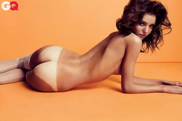 Miranda Kerr nude topless GQ