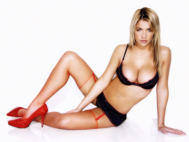 Gemma Atkinson sexy hot lingerie big tits cleavage Jeany Savage