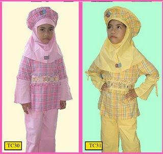 gerai aisha: Baju Anak : Dannis, Poeti & Baju muslim mu