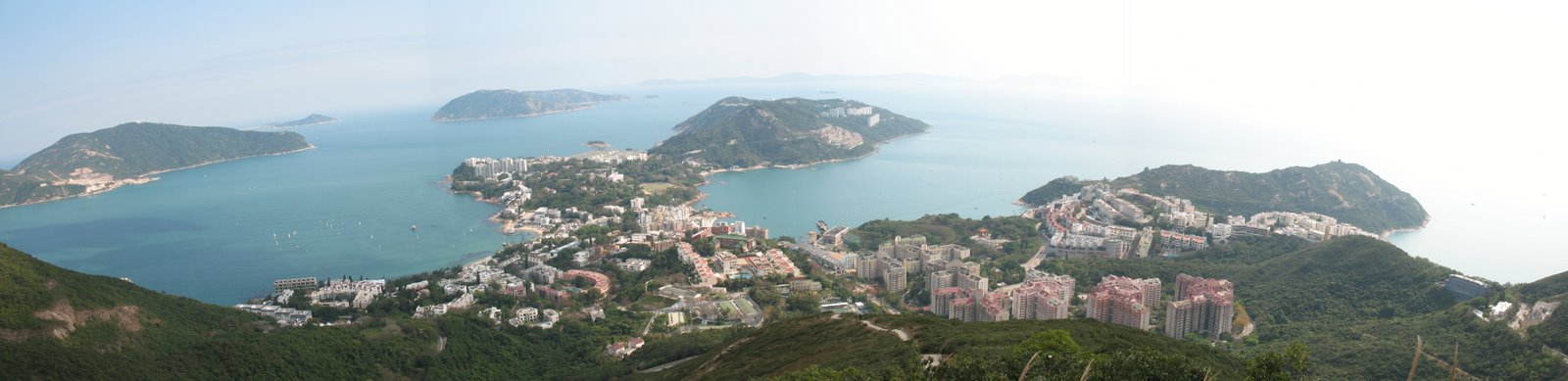 A panoramic view of Stanley, Hong Kong, taken by yours truly!