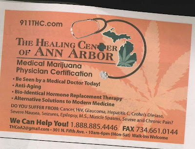 The Medical Marajuana The Healing Center of Ann Arbor