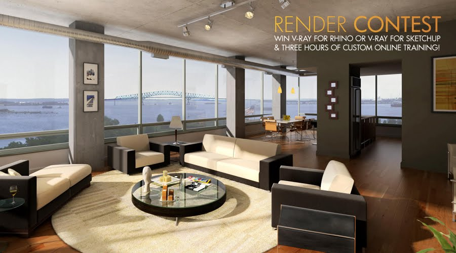 Rhino news etc asgvis announces their v ray render contest for Arredi 3ds