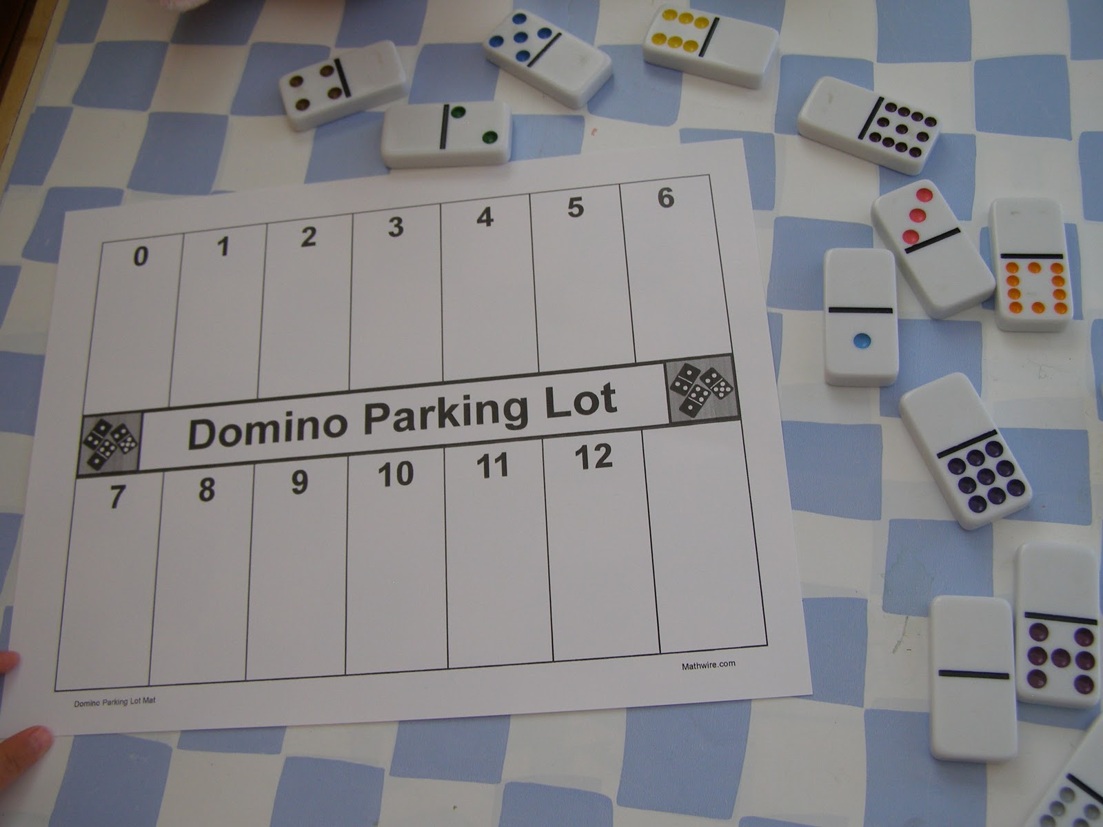 Home)School of the Blogosphere: Domino Parking Lot