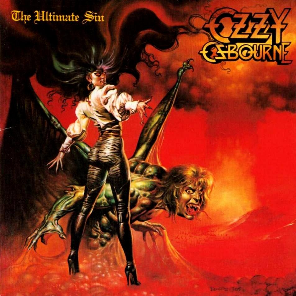 Ozzy Osbourne - The Ultimate Sin  1986 Ozzy Osbourne The Ultimate Sin