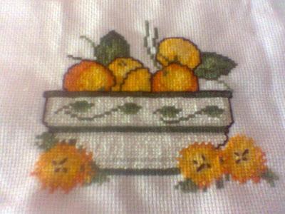 Punto de cruz frutero de cocina - Fruteros de cocina ...