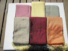 Silk Mixing Color Big Shawl