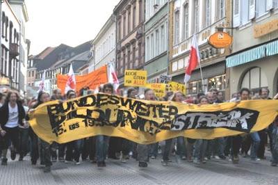 Studenten demonstreren